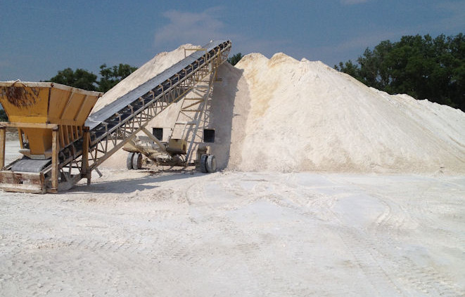 Pile of Gypsum